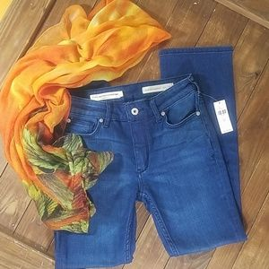 Anthropologie High-Rise Boot Cut Jeans